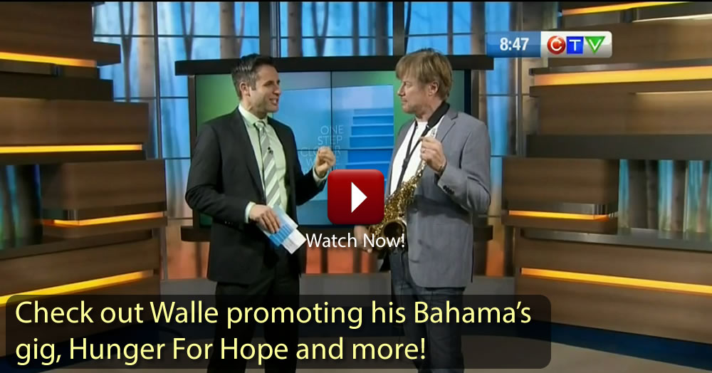 Walle on CTV News